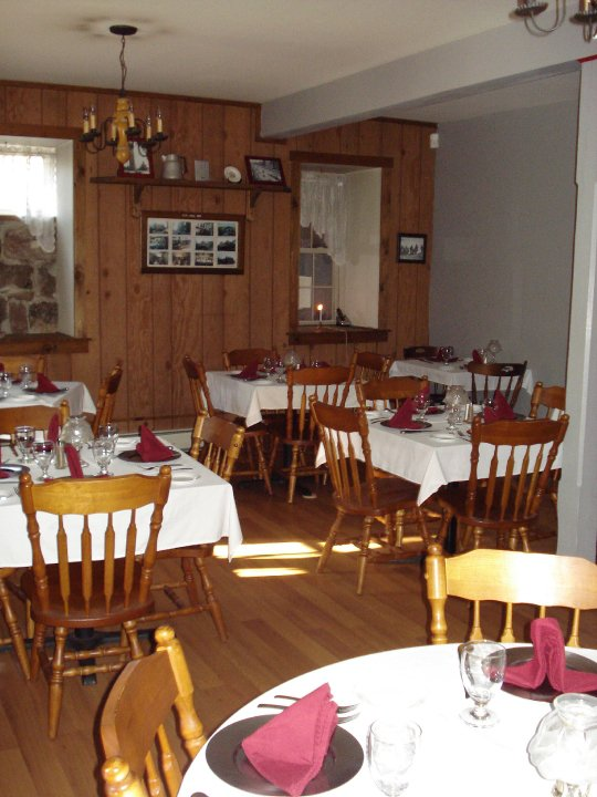 The history dining room